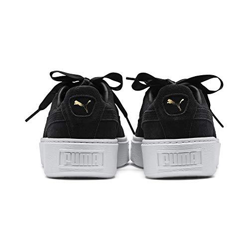 Suede 01 Puma Platform Zapatillas Bling Mujer Negro dw8qT0