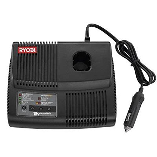 Ryobi P131 One+ Portable Dual Chemistry Lithium Ion or NiCad Vehicle Charger