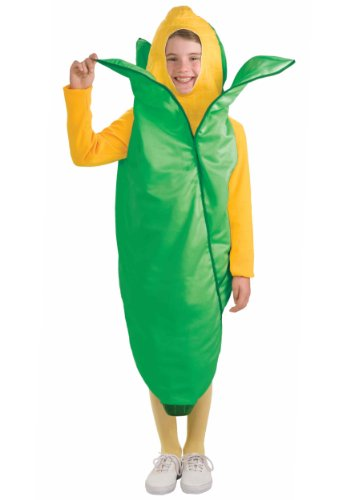 [Forum Novelties Fruits and Veggies Collection Ear 'O Corn Child Costume, Medium] (Halloween Costumes Ideas For Girls Age 12)