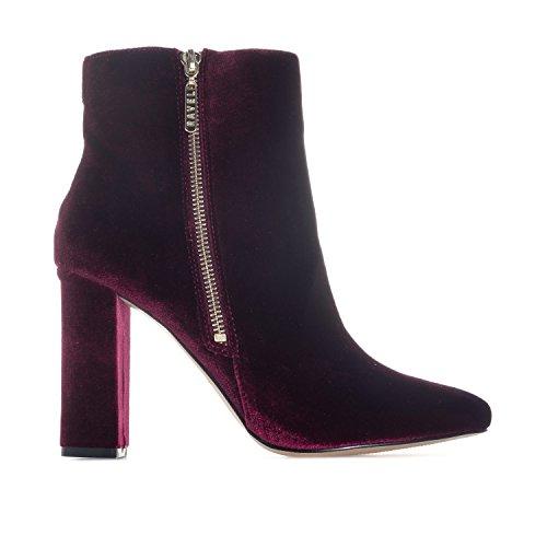 Ravel Fenice Bordeaux Velvet Boots Femme TTwq6n4r5