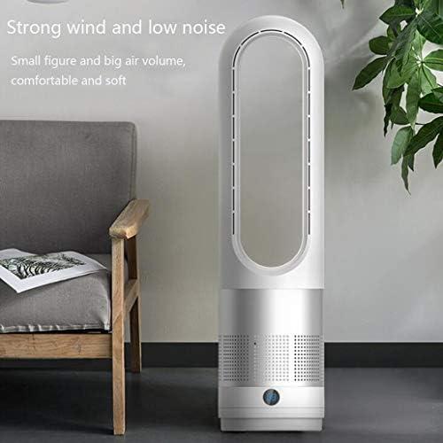 ZJM Portable Ventilatore Senza Lama, Calma Air Cooler Fan in Piedi Torre Senza Lama Fans Telecomando con 8 Controllo della velocità, 8 Ore di Temporizzatore, per Le Case E Ufficio