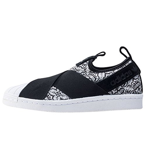 Bianco Fitness Scarpe Slipon Nero Donna Da Superstar W Adidas qFPvx