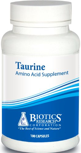 Biotics Research, Taurine 500 mg 100 Capsules
