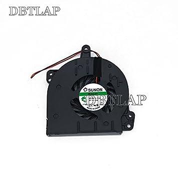 DBTLAP Ventilador de la CPU del Ordenador portátil para HP Compaq 500 520 530 C700 A900 DFB451005M20T F687-CW SPS-438528-001 AT010000200 KSB0505HA 2 Pins: ...