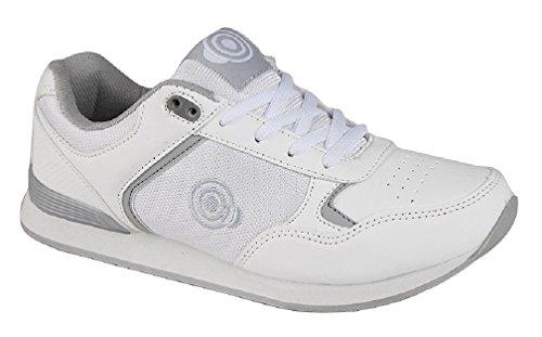 Dek - zapatilla baja mujer Blanco - blanco/gris