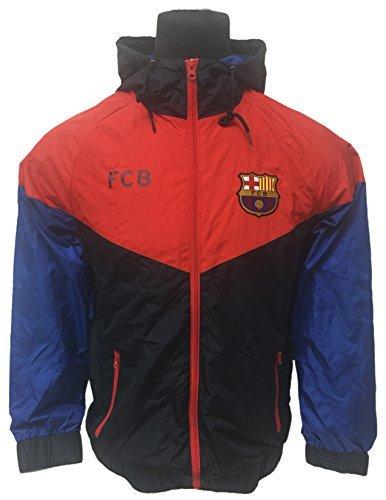 bae161d4e6f9 HKY FC Barcelona Waterproof Lightweight Rain Jacket