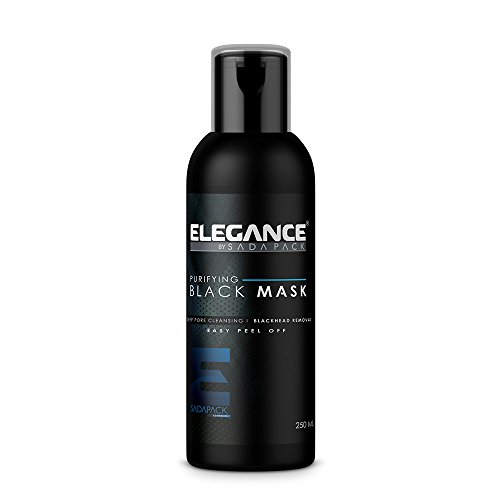 Price comparison product image Elegance Black Mask Peel Off Facial Mask Deep Pore Cleaning Removes Impurities Easy Peel Off Refreshing Scent 250ML 8.4OZ