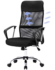 Advwin Executive Gaming Chair Office Computer Racer Recliner Chairs w/Footrest