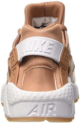 NIKE Huarache Donna Beige da Run Clay Wmns Air Yellow Gum Dusted Scarpe Ginnastica White rq4n1xrfwE