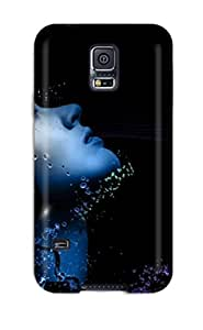 lintao diy Awesome Case Cover/galaxy S5 Defender Case Cover(headphones)