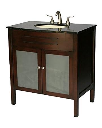 34 Inch Contemporary Style Single SInk Bathroom Vanity Model 3020 SAmazon com  34 Inch Contemporary Style Single SInk Bathroom Vanity  . 34 Bathroom Vanity. Home Design Ideas