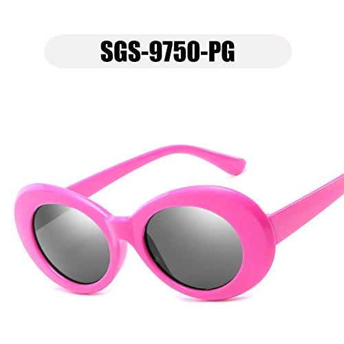 peso rosa hombres gafas mujeres marca moda 2018 de Tortuga de sol de de Tortuga ovales Marrón Marco sol gafas diseñador OMAS gafas gafas nuevas la mujeres 4Rpx7