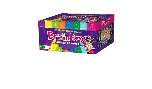 Brainbox Juego De Mesa Idioma Español, Multicolor (31693498): Amazon.es: Juguetes y juegos