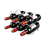 LZZNA Space Saver Wine Rack