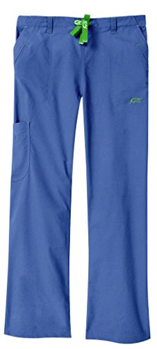 Iguanamed MA152878 Women's 5522 Legend Pant, 2X, Azure Blue (Pants Scrub Women Iguana)