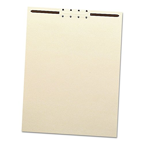 Folder Fasteners Pockets Tabs Inserts - Smead 35511 Recycled Letter Size Manila File Backs w/Prong Fasteners, 2
