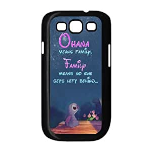 Custom High Quality WUCHAOGUI Phone case Lilo & Stitch - Ohana Means Family Protective Case For Samsung Galaxy S3 - Case-3