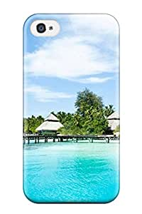 Durable Case For The Iphone 4/4s- Eco-friendly Retail Packaging(maldives Holidays )