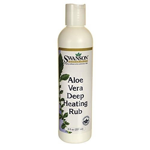 - Swanson Aloe Vera Deep Heating Rub 8 fl Ounce (237 ml) Gel