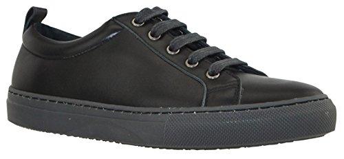JJ Footwear Baskets Femme Cuir Lorain Standard 21.9 cm - 25.5 cm Zwart Nappa Capri 36