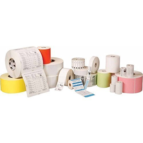 2000d Thermal Z-perform Barcode Labels - Zebra 10015781 Technologies Z-Perform 2000D Paper Label, Direct Thermal, Perforated, 2.25