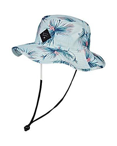 Billabong Print Hat - Billabong Men's Big John Print Safari Hat Blue One Size