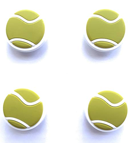 Cupcake Tennis Shoes (Tennis Ball Shoe Charm Decoration by Worked Like A Charm| for Bracelets and Shoes Party Favors)
