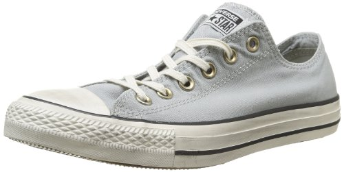 Converse Chuck Taylor All Star Well Worn Ox 358890-61-10 - Zapatillas de tela para unisex-adultos, color azul, talla 40 Gris (Grau (Gris))