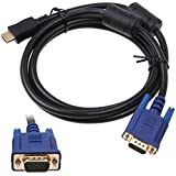 HDMI to VGA 3 Meter HD cable