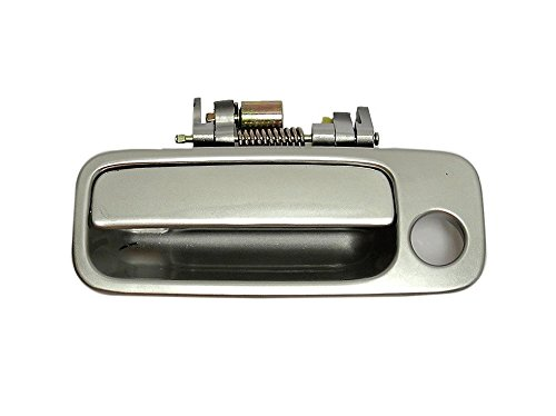 (B457 97-01 Toyota Camry Front left Outside, Exterior Door Handle SILVER 1C8)