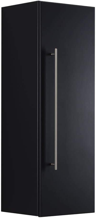 emotion Hochschrank 100 cm schwarz seidenglanz