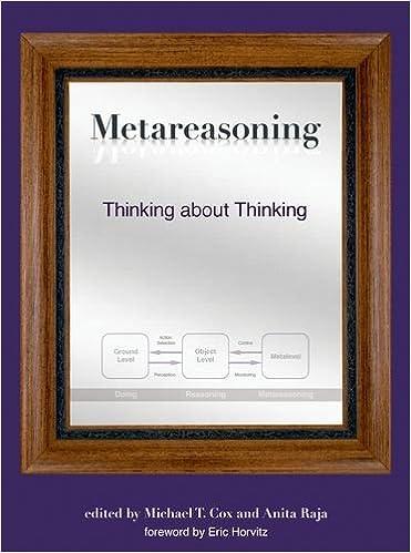 Metareasoning : thinking about thinking