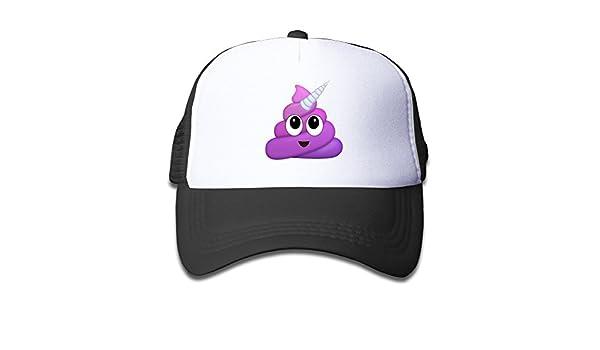 DIYoDGG Kids New Poop Trucker Hats,Youth Mesh Caps,Snapback Baseball Cap Hat Boys