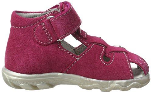 Richter Kinderschuhe Terrino - Botas de senderismo Bebé-Niños Pink (fuchsia/pink/silver)