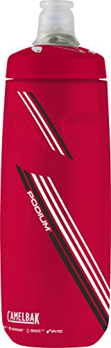 CamelBak Podium Water Bottle, 24 oz, Rally Red