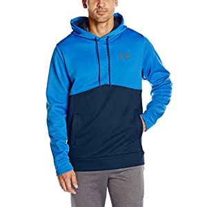 Under Armour Men's Af Icon Solid Po Hood Jacket, Mediterranean (437)/Graphite, Large