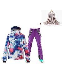 Women Ski Jacket Pants High Windproof Technology Snowboard Jacket