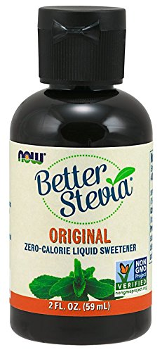 Now Foods Better Stevia Liquid Extract Original, 2 oz (Pack of 2)