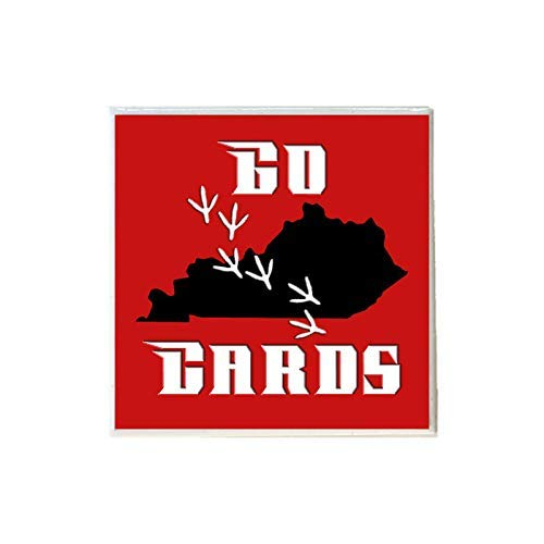 - Go Cards Louisville Cardinal Coaster
