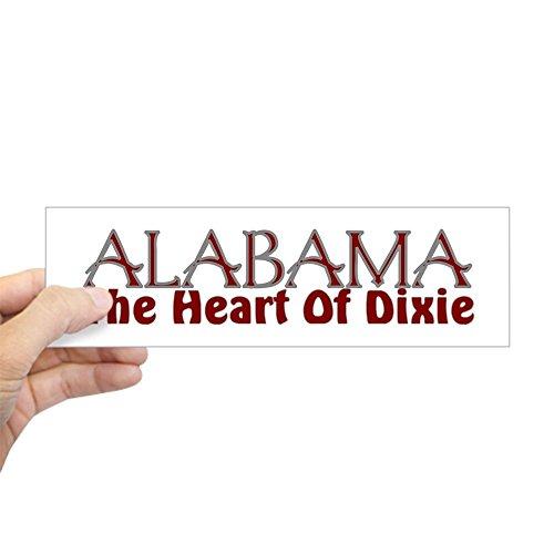CafePress Alabama The Heart of Dixie Bumper Sticker 10