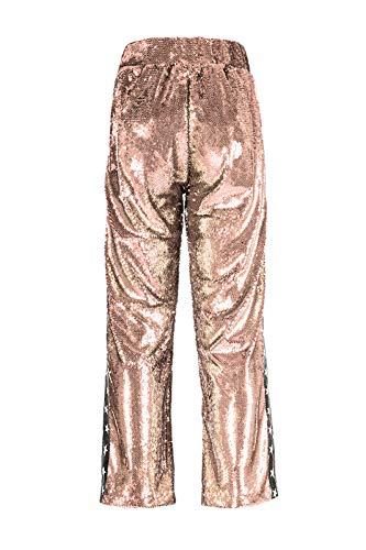 S Pailettes Oro Pantalone Con Con Pantalone wqPP0O