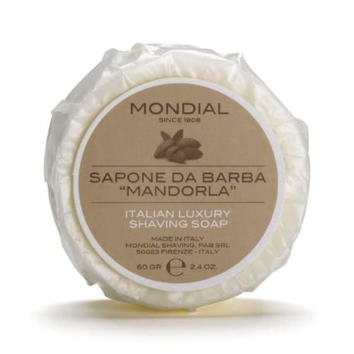Mondial Savon barbe, Amande–60gr