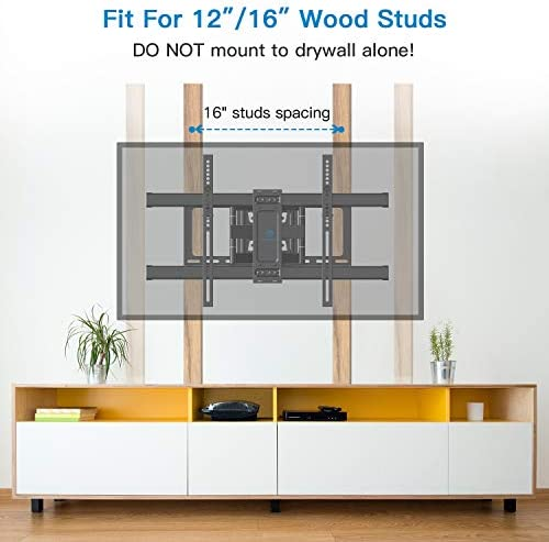 electronics, television, video, television accessories, tv mounts, stands, turntables,  tv ceiling, wall mounts 2 picture PERLESMITH TV Wall Mount Bracket Full Motion Dual in USA