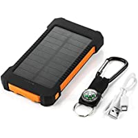 Yao Dual USB Portable Solar Battery Charger Universal