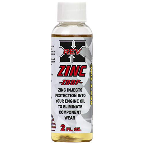 REV-X ZDDP Oil Additive - Zinc for Flat Tappet Cams & Engine Break in (1)