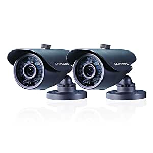 Samsung SDC-5440BCD High Resolution Weatherproof IR Camera Double Pack