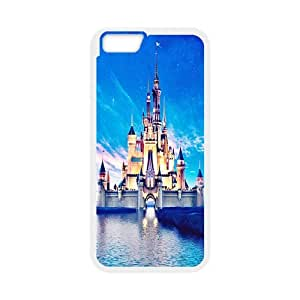 Protective Princess Castle Customize Back Case Cover TPU For iphone 6 (4.7 inch)