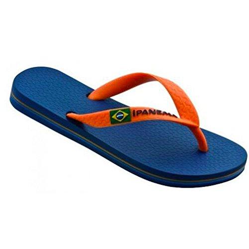Ipanema Jungen Zehentrenner marineblau/orange