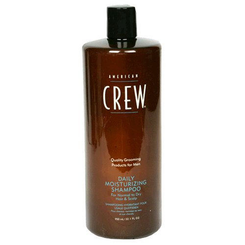 American Crew Daily Moisturizing Shampoo for Men, Normal to