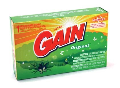 Powder Laundry Detergent Coin - Gain Powder Detergent - Coin Vend